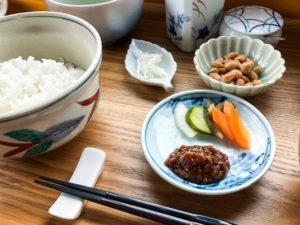醤油麹のある食卓